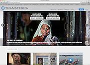 Transterra Media homepage