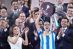 Queen Letizia of Spain attends Copa de la Reina Final at Los Nuevos Carmenes Stadium on May 12, 2019 in Granada, Spain. 11 May 2019 Pictured: Queen Letizia. Photo credit: MEGA TheMegaAgency.com +1 888 505 6342