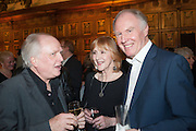 MIKE ATTENBOROUGH; PAMELA MILES; TIM PIGOTT-SMITH, The Almeida Theatre  celebrates Mike Attenborough's 11 brilliant years as Artistic Director. Middle Temple Hall,<br /> Middle Temple Lane, London, EC4Y 9AT