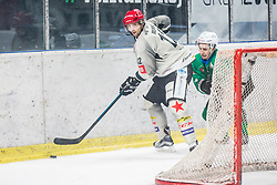 DavidRodman of HDD Jesenice during Ice Hockey match between HK SZ Olimpija Ljubljana and HDD Jesenice in Round #24 of Alps Hockey League, on December 22, 2018 in Hala Tivoli, Ljubljana, Slovenia. Photo by Ziga Zupan / Sportida