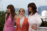 Producer Nancy Grant, Actress Anne-Elisabeth Bosse and Director Monia Chokri at La Femme De Mon Frere (A Brother's Love) film photo call at the 72nd Cannes Film Festival, Wednesday 15th May 2019, Cannes, France. Photo credit: Doreen Kennedy