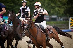 Van Severen Emma, BEL<br /> 't Hoefijzer 5 vs. InnRhorse - Horseball Event 2017© Hippo Foto - Sharon Vandeput<br /> 2/07/17