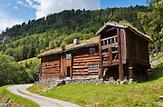 Visit the farm museum of Rygnestadtunet (at Nordigard, in Nørdre Rygnestad, near Valle, Setesdal, Aust-Agder, Norway) to admire a unique 1590 three-story storehouse, a farmhouse with open-hearth room dating from before the Black Death (1349-50), and 15th century painted textiles.