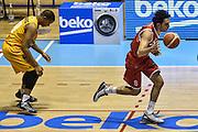 DESCRIZIONE : Torino Lega A 2015-2016 Manital Torino - Grissin Bon Reggio Emilia<br /> GIOCATORE : Amedeo Della Valle<br /> CATEGORIA : Palleggio Contropiede<br /> SQUADRA : Grissin Bon Reggio Emilia<br /> EVENTO : Campionato Lega A 2015-2016<br /> GARA : Manital Torino - Grissin Bon Reggio Emilia<br /> DATA : 05/10/2015<br /> SPORT : Pallacanestro<br /> AUTORE : Agenzia Ciamillo-Castoria/GiulioCiamillo
