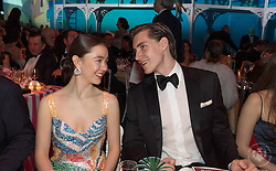 Princess Alexandra of Hanover and Ben-Sylvester Strautmann attend the Rose Ball 2019 at Sporting in Monaco, Monaco. Photo by Palais Princier/Jacques Witt/SBM/ABACAPRESS.COM