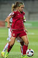 Spain's Alexia Putellas during the match of  European Women's Championship 2017 at Las Rozas, between Spain and Montenegro. September 15, 2016. (ALTERPHOTOS/Rodrigo Jimenez)