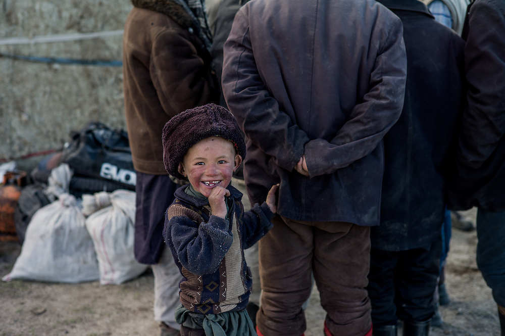 Kyrgyz yurt settlement, day 8.