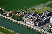 Nederland, Noord-Holland, Gemeente Koggenland, 28-04-2010; Oudendijk, .cooperatieve melkfabriek Concordia (gesloten)..Cooperative dairy Concordia (closed).luchtfoto (toeslag), aerial photo (additional fee required).foto/photo Siebe Swart
