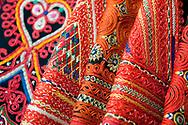 Croatian folk costumes at Posudionica i radionica narodnih nošnji (Department for the Preservation, Reconstruction and Lending of Traditional Costumes), Zagreb, Croatia © Rudolf Abraham