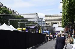 June 4, 2017 - Paris, France, France - Illustration Paris Drone Festival (Credit Image: © Panoramic via ZUMA Press)
