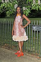 LONDON - JUNE 26: Azealia Banks attended the Serpentine Gallery summer party, Kensington Gardens, London, UK. June 26, 2012. (Photo by Richard Goldschmidt)