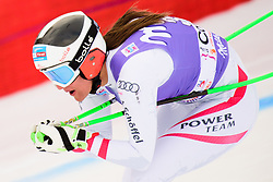 January 19, 2018 - Cortina D'Ampezzo, Dolimites, Italy - Ricarda Haaser of Austria competes  during the Downhill race at the Cortina d'Ampezzo FIS World Cup in Cortina d'Ampezzo, Italy on January 19, 2018. (Credit Image: © Rok Rakun/Pacific Press via ZUMA Wire)