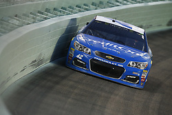 November 19, 2017 - Homestead, Florida, United States of America - November 19, 2017 - Homestead, Florida, USA: Kyle Larson (42) brings his car through the turns during the Ford EcoBoost 400 at Homestead-Miami Speedway in Homestead, Florida. (Credit Image: © Chris Owens Asp Inc/ASP via ZUMA Wire)
