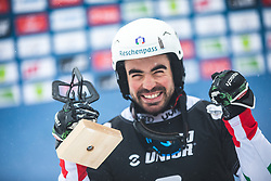 FELICETTI Mirko (ITA) during FIS alpine snowboard world cup 2019/20 on 18th of January on Rogla Slovenia<br /> Photo by Matic Ritonja / Sportida