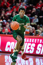 NORMAL, IL - December 16: Tyree Appleby during a college basketball game between the ISU Redbirds and the Cleveland State Vikings on December 16 2018 at Redbird Arena in Normal, IL. (Photo by Alan Look)