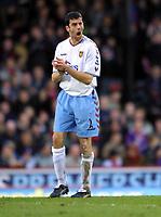 Fotball<br /> Premier League 2004/05<br /> Crystal Palace v Aston Villa<br /> 3. januar 2004<br /> Foto: Digitalsport<br /> NORWAY ONLY<br /> Mark Delaney (Villa)