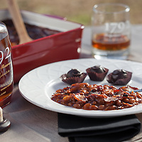 Ken Pierce of 1792 RIdgemont Reserve Distillery, bourbon baked beans recipie