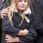 NLD/Amsterdam/20180203 - 80ste Verjaardag Pr. Beatrix, Prinses Amalia