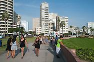 On  Miraflores seafront
