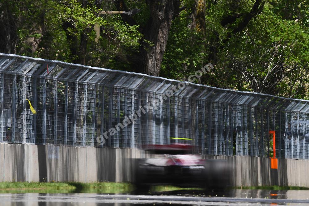 Antonio Giovinazzi (Alfa Romeo-Ferrari) during practice for the 2019 Canadian Grand Prix in Montreal. Photo: Grand Prix Photo