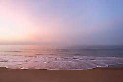 Dawn at the beach in Montauk, NY