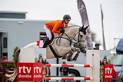 Moerings Bas, NED, Fosther<br /> European Jumping Championship Children<br /> Zuidwolde 2019<br /> © Hippo Foto - Dirk Caremans<br /> Moerings Bas, NED, Fosther
