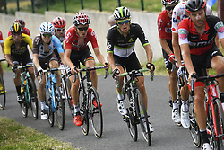 July 16, 2017 - Puy En Velay, France - LE PUY-EN-VELAY, FRANCE - JULY 16 : BAKELANTS Jan (BEL) Rider of Team AG2R La Mondiale, BENOOT Tiesj (BEL) Rider of Team Lotto - Soudal, PAUWELS Serge (BEL) Rider of Team Dimension Data during stage 15 of the 104th edition of the 2017 Tour de France cycling race, a stage of 189.5 kms between Laissac-Severac l'Eglise and Le Puy-En-Velay on July 16, 2017 in Le Puy-En-Velay, France, 16/07/2017 (Credit Image: © Panoramic via ZUMA Press)