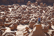 SHOT 5/22/17 8:59:40 AM - Emery County is a county located in the U.S. state of Utah. As of the 2010 census, the population of the entire county was about 11,000. Includes images of mountain biking, agriculture, geography and Goblin Valley State Park. (Photo by Marc Piscotty / © 2017)