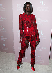 MANHATTAN, NEW YORK CITY, NY, USA - SEPTEMBER 13: Rihanna's 4th Annual Diamond Ball Benefitting The Clara Lionel Foundation held at Cipriani Wall Street on September 13, 2018 in Manhattan, New York City, New York, United States. 13 Sep 2018 Pictured: Duckie Thot. Photo credit: Image Press Agency/MEGA TheMegaAgency.com +1 888 505 6342