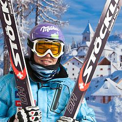 20110302: ITA, FIS World Cup Ski Alpine, Ladies Downhill Training, Tarvisio