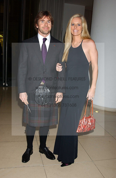 PAUL & VICTORIA STEWART, he is the son of racing driver Jackie Stewart at a Burns Night supper in aid of Clic Sargent & Children's Hospital Association Scotland hosted by Ewan McGregor, Sharleen Spieri and Lady Helen Taylor at St.Martin's Lane Hotel, 45 St Martin's Lane, London on 25th January 2006.<br /><br />NON EXCLUSIVE - WORLD RIGHTS