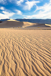 """""""Ibex Dunes 4"""" - Photograph of ripples in the sand at Ibex Sand Dunes in Death Valley, California."""