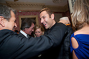 MARIO TESTINO; DAVID WALLIAMS, Graydon Carter hosts a diner for Tom Ford to celebrate the London premiere of ' A Single Man' Harry's Bar. South Audley St. London. 1 February 2010