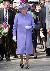 The Queen in Hitchin 14-6-12