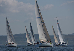 Final days' racing at the Silvers Marine Scottish Series 2016, the largest sailing event in Scotland organised by the  Clyde Cruising Club<br /> <br /> Racing on Loch Fyne from 27th-30th May 2016<br /> <br /> Class 8, Start,  with Argento, GBR4770R, Golden Fox, Angus Cartwright, CCC, Beneteau First 47.7, Jochr, Celtic Spirit, Slippi Jin<br /> <br /> Credit : Marc Turner / CCC<br /> For further information contact<br /> Iain Hurrel<br /> Mobile : 07766 116451<br /> Email : info@marine.blast.com<br /> <br /> For a full list of Silvers Marine Scottish Series sponsors visit http://www.clyde.org/scottish-series/sponsors/