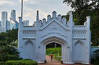 Singapour, Colonial District, parc e Fort Canning // Singapore, Colonial District, Fort Canning Park
