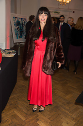 NATALIA BARBIERI at a gala dinner to celebrate 15 Years of mothers2mothers hosted by Annie Lennox held at One Marylebone, 1 Marylebone Road, London NW1on 3rd November 2015.