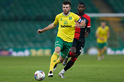 Grant Hanley of Norwich City- Mandatory by-line: Phil Chaplin/JMP - 28/11/2020 - FOOTBALL - Carrow Road - Norwich, England - Norwich City v Coventry City - Sky Bet Championship