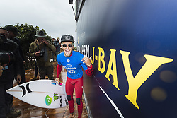 July 20, 2017 - Filipe Toledo of Brazil is the 2017 Corona Open J-Bay WINNER by defeating Frederico Morais of Brazil in the final in epic overhead conditions at Supertubes, Jeffreys Bay, South Africa.  The victory is Toledo's second Championship Tour win of his career...Corona Open J-Bay, Eastern Cape, South Africa - 20 Jul 2017. (Credit Image: © Rex Shutterstock via ZUMA Press)