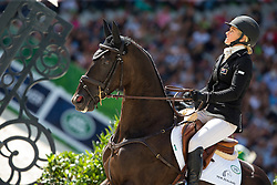Jonelle Price, (NZL), Classic Moet - Jumping Eventing - Alltech FEI World Equestrian Games™ 2014 - Normandy, France.<br /> © Hippo Foto Team - Leanjo De Koster<br /> 31-08-14