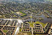 Nederland, Friesland, Gemeente Skarsterlan (Scharsterland), 01-05-2013; Joure, stadsuitbreiding met nieuwbouwwijk Skipsleat in de Haskerveenpolder.<br /> Urban development and new residential area in Joure in the polder (Friesland, north Netherlands). <br /> luchtfoto (toeslag op standard tarieven)<br /> aerial photo (additional fee required)<br /> copyright foto/photo Siebe Swart