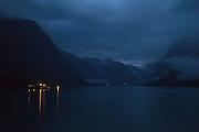 Lovatnet - A lake's night view<br /> <br /> Una vista nocturna del lago