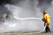 Israeli Air force fire fighters
