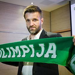 20170602: SLO, Football - Igor Biscan as new head coach of NK Olimpija