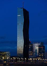 THEMENBILD - DC Tower in Wien. Aufgenommen am 02.03.2015 in Wien, Österreich // DC Tower in Vienna. Austria on 2015/03/02. EXPA Pictures © 2015, PhotoCredit: EXPA/ Michael Gruber