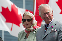 Prince Charles and Camilla Duchess of Cornwall are seen during the official welcome ceremony in Iqaluit, Nunavut, Canada, Thursday, June 29, 2017. Photo by Adrian Wyld/ABACAPRESS.COM