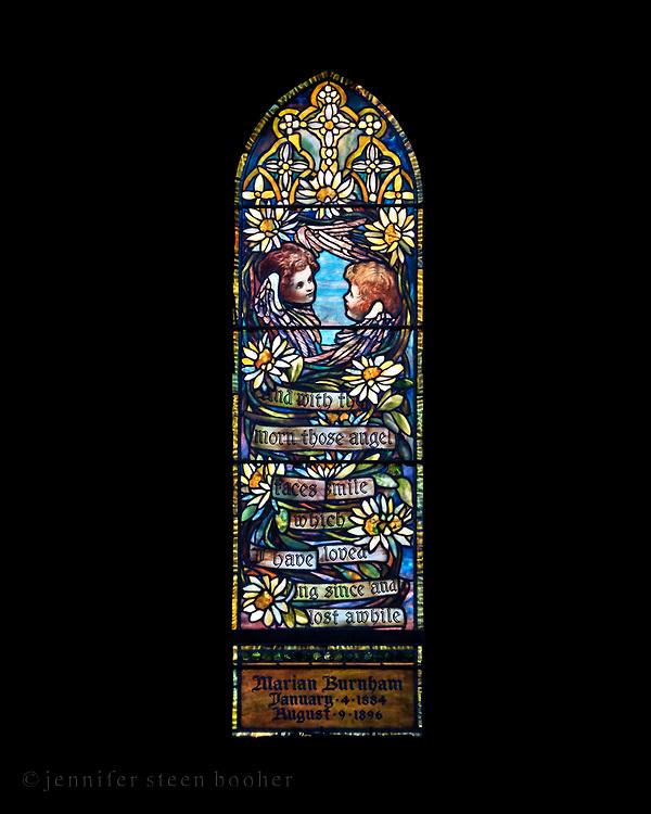 Window 18 on plan.<br /> <br /> St. Saviour's Episcopal Church, Bar Harbor, Maine.