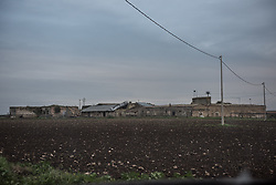 Novembre 2018, ghetto Ghanesi, Borgo Tre Titoli, Cerignola