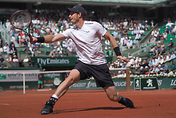 June 8, 2017 - Paris, France - Andy Murray.day 11, Roland Garros 2017. Paris, France, 07/06/2017. # TOURNOI DE TENNIS DE ROLAND-GARROS - 07 JUIN 2017 (Credit Image: © Visual via ZUMA Press)