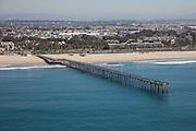 City of Ventura California Aerial Stock Photo